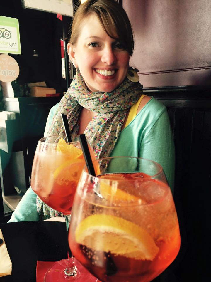 Puttin' on the Spritz: A Short and Spirited Interview with Author Vicki Lesage